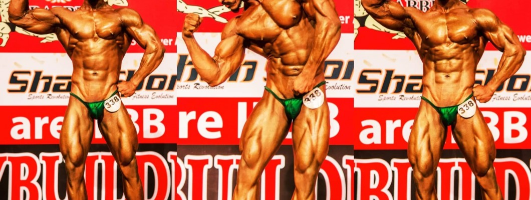Top Bangladeshi Bodybuilder six pack