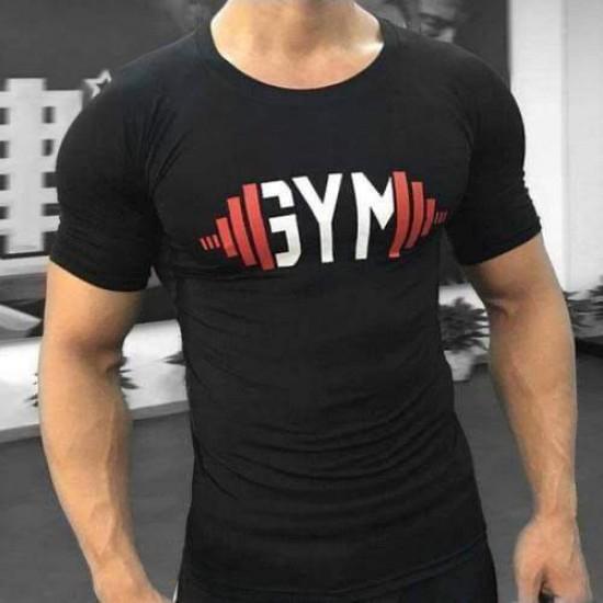 Bodybuilding Gym T shirt Black