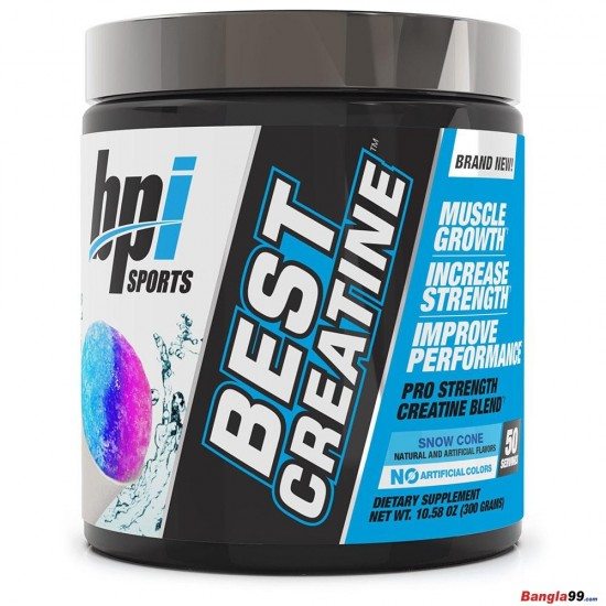 BPI Sports Best Creatine 50 servings Flavored