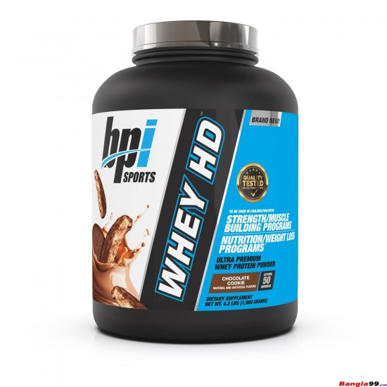 BPI Sports Whey HD Ultra Premium Protein 4.1 lbs