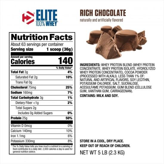 Dymatize Elite Whey Protein 5 Pound