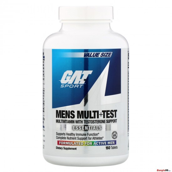 GAT Sport Mens Multi Test 150 tab