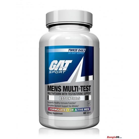 GAT Sport Mens Multi Test 60 tab
