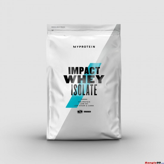 Impact Whey Isolate By MyProtein 2.2lbs
