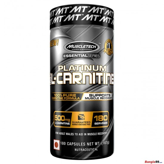 MuscleTech L-Carnitine 180 Tab