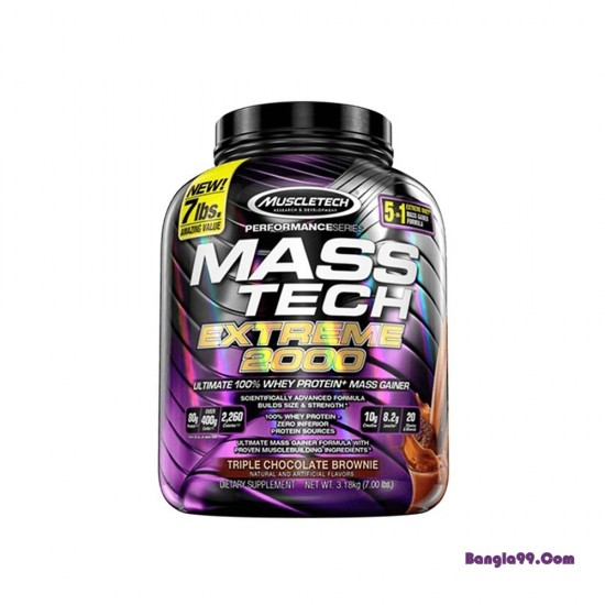 MuscleTech Mass Tech Extreme 2000 Mass Gainer