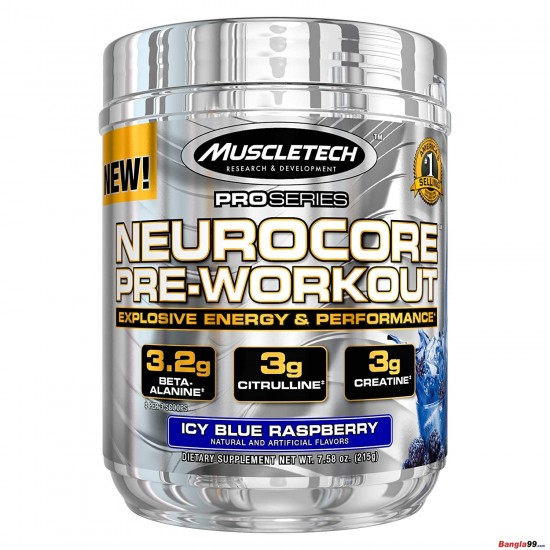 Muscletech Neurocore Pre Workout 50 Servings