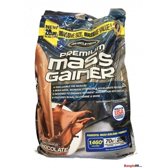 MuscleTech Premium Mass Gainer 20 Lbs