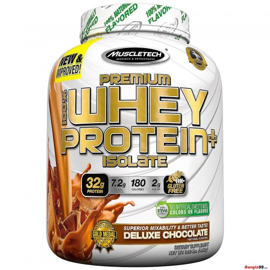 MuscleTech Premium  Whey Protein Isolate 3lbs