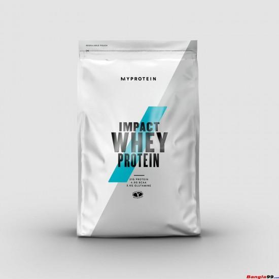 MyProtein Impact whey protein 2.2lbs