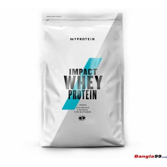 MyProtein Impact whey protein 5.5lbs