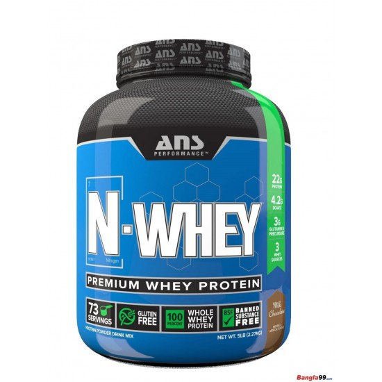 N Whey Protein 5 LBS By ANS Performance