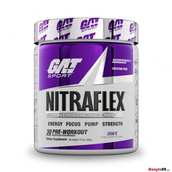 NITRAFLEX Pre workout By Gat