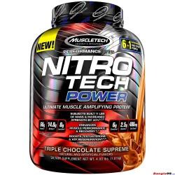 NitroTech Power  Whey Protein Power  4lbs