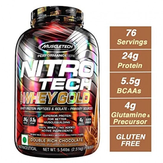Muscletech Nitrotech Whey Gold 5.53lbs