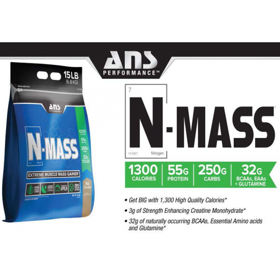 Ans N Mass Extreme Mass Gainer 15 Lbs