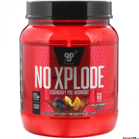 No xplode Pre workout 60 serving
