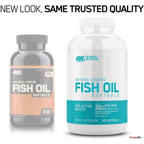 Fish Oil Optimum Nutrition 200 Softgels