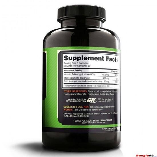 Optimum Nutrition ZMA 180 tab