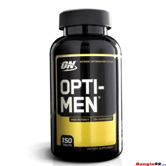 Opti Men Multivitamin Optimum Nutrition 150 Tab