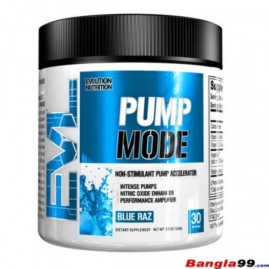 Pump Mode Pre Workout Evlution Nutrition