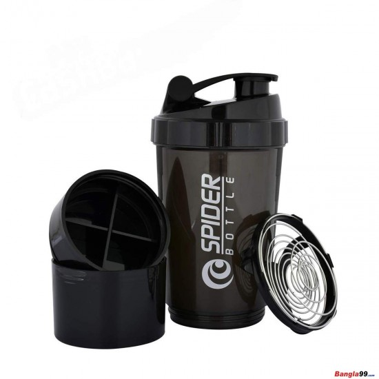 Spider Shaker 3 Part Black